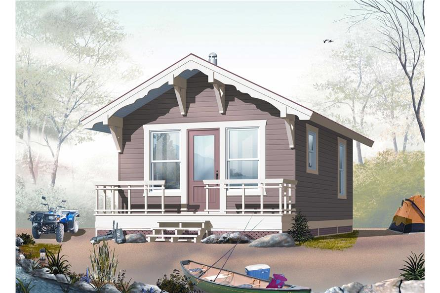 Small Home Plans - Home Design DD-1902
