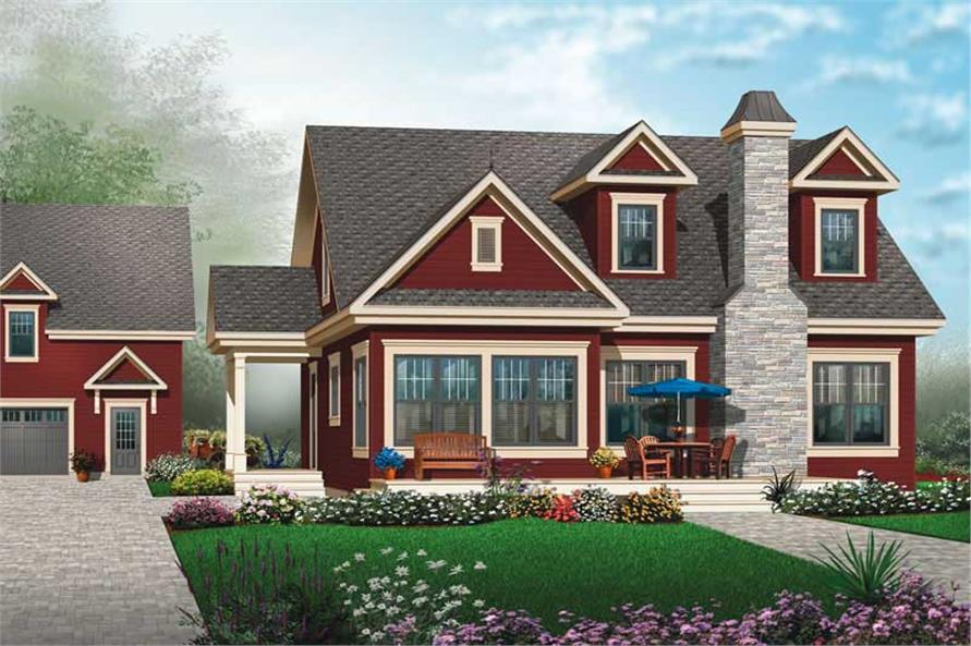 Main image for house plan # 20011