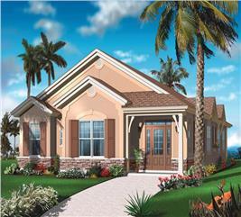 House Plan #126-1032