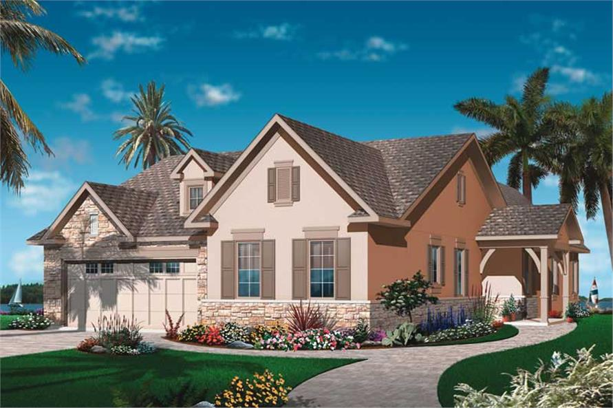 Main image for house plan # 19984