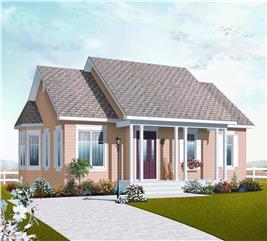 House Plan #126-1043