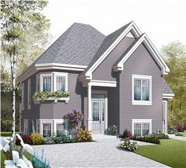 House Plan #126-1047
