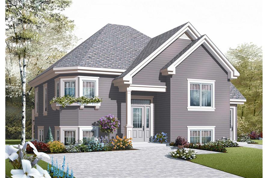 Traditional House Plans - Home Design Dd-3322B