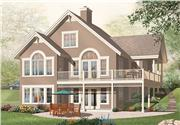 View house Plan#126-1053