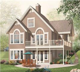 House Plan #126-1053