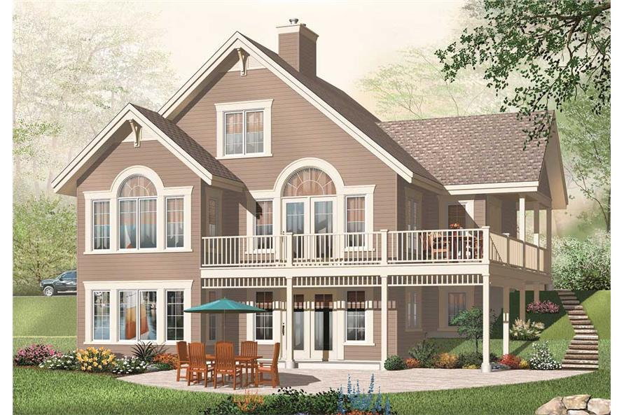 5-Bedroom, 2920 Sq Ft In-Law Suite Home Plan - 126-1053 - Main Exterior
