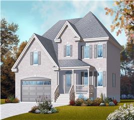 House Plan #126-1061