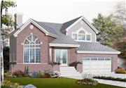 View house Plan#126-1063