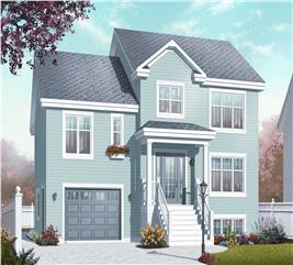 House Plan #126-1065