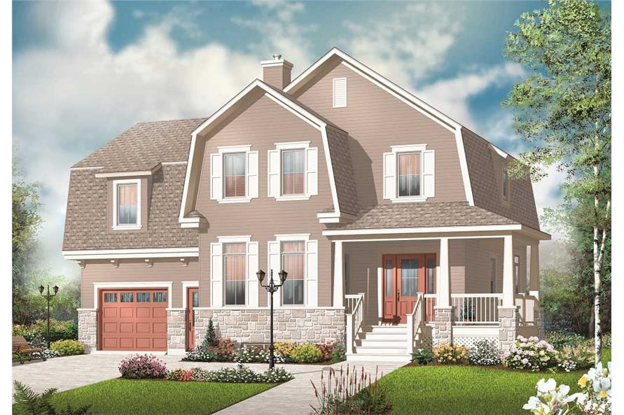 5-Bedroom, 2221 Sq Ft Farmhouse House - Plan #126-1069 - Front Exterior