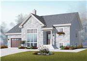 View house Plan#126-1075
