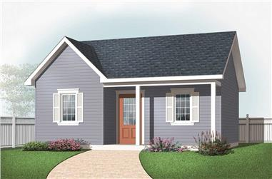 0-Bedroom, 423 Sq Ft Specialty Home Plan - 126-1076 - Main Exterior
