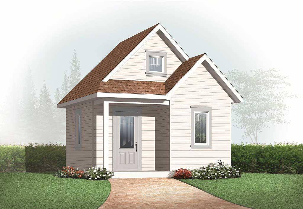 Specialty house plan 0 bedrms 0 baths 352 sq ft for 3d elevation house plan