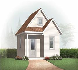 House Plan #126-1078