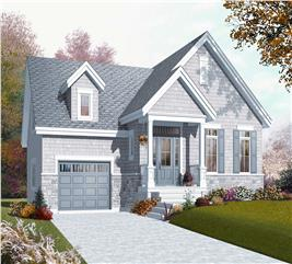 House Plan #126-1079