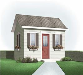 House Plan #126-1085