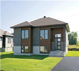 House Plan #126-1088