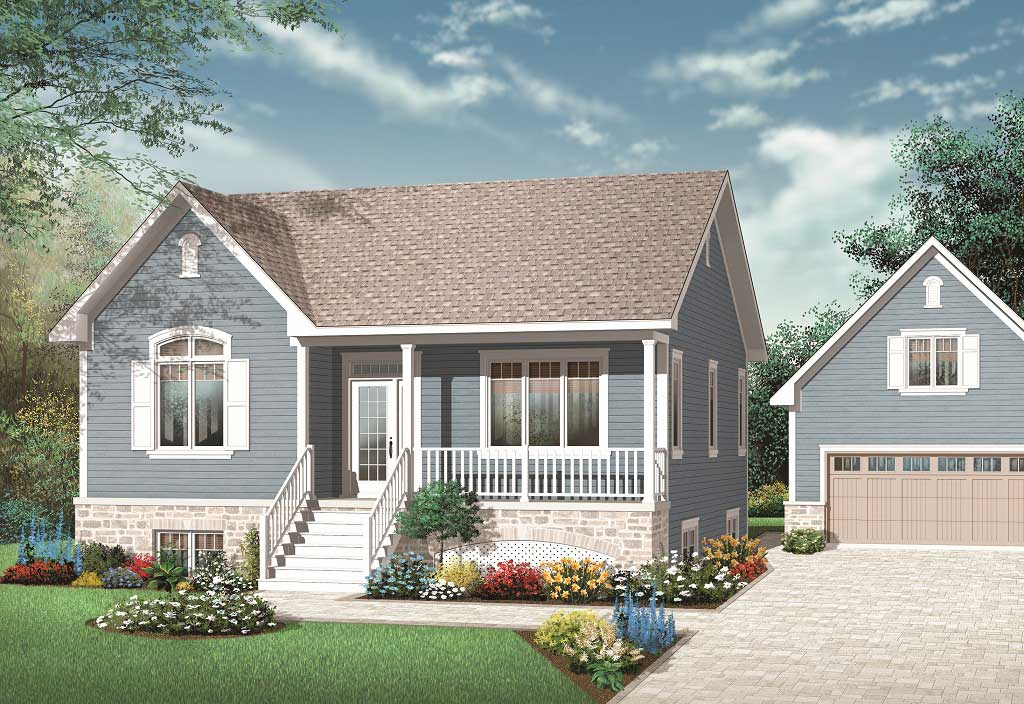 1 Bedroom 1 1 2 Bath House Plans