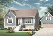 View house Plan#126-1093