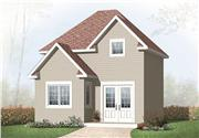 View house Plan#126-1096