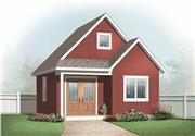 View house Plan#126-1097