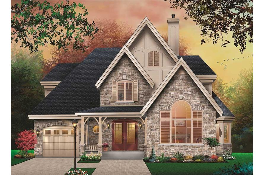 Tudor House Plans Home Design 3872