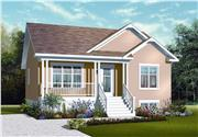 View house Plan#126-1121