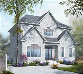 House Plan #126-1125
