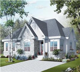 House Plan #126-1127