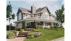 This is a color photo of these Traditional Country House Plans.