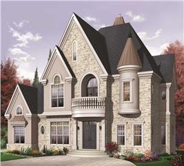 House Plan #126-1152