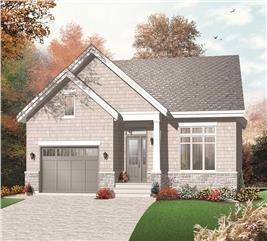 House Plan #126-1155