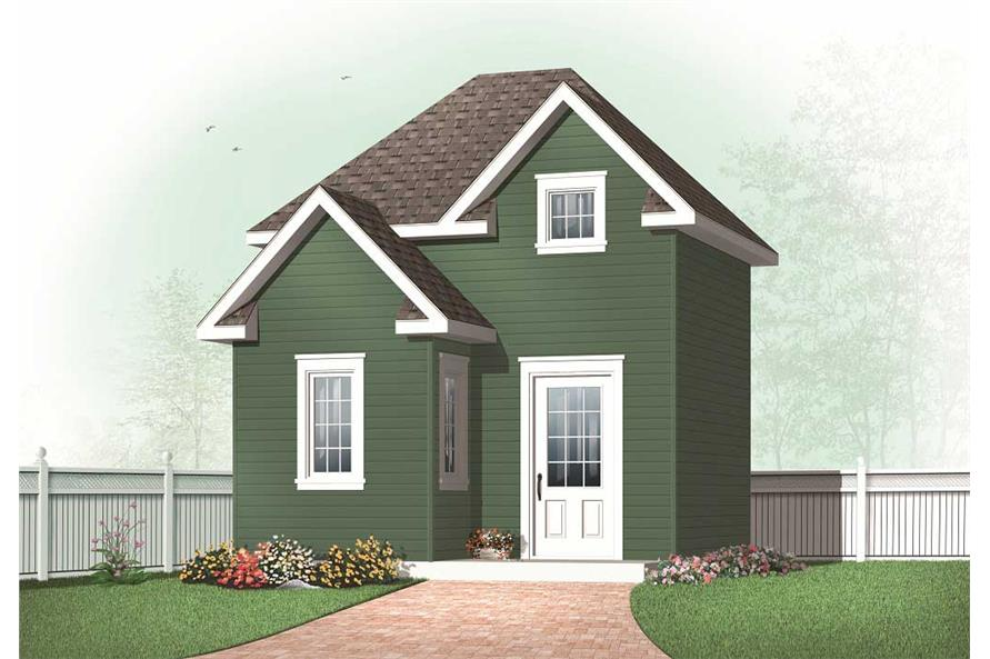 specialty home plan - 0 bedrms  0 baths - 416 sq ft