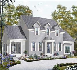 House Plan #126-1168