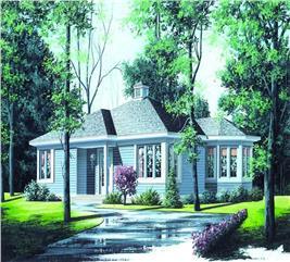 House Plan #126-1174