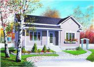 Main image for house plan # 4166