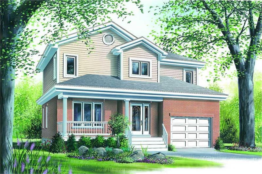 Main image for house plan # 4184