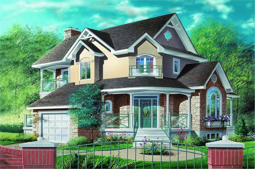 Main image for house plan # 4185