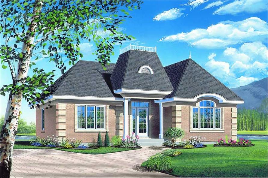 Main image for house plan # 4157