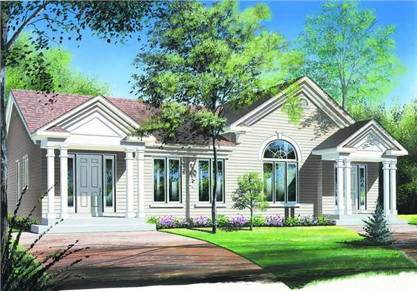 Main image for house plan # 4159