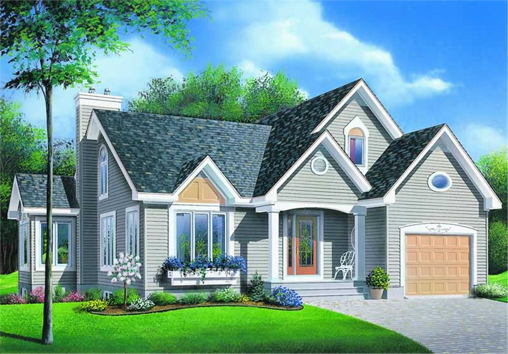 Main image for house plan # 4206
