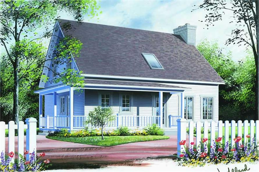 Main image for house plan # 4160