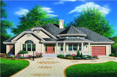 Main image for house plan # 4140
