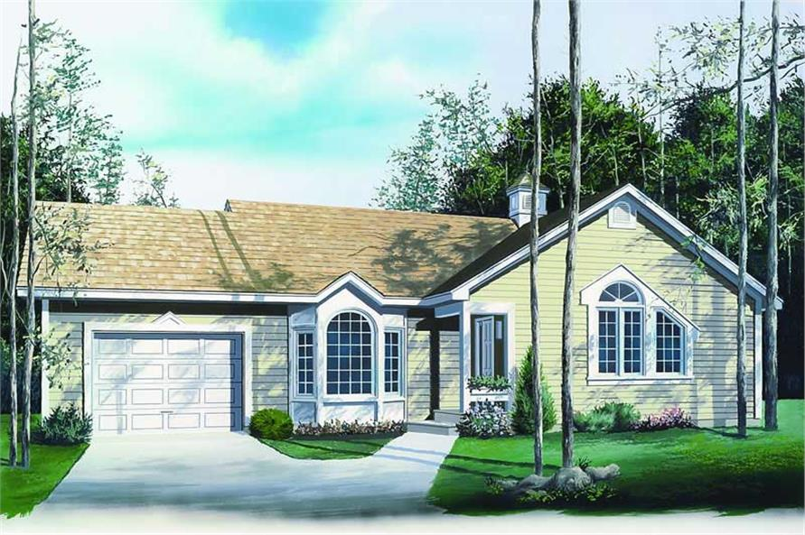Main image for house plan # 4137