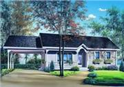 View house Plan#126-1206