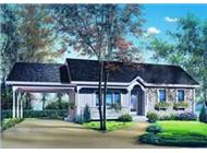 Main image for house plan # 4208
