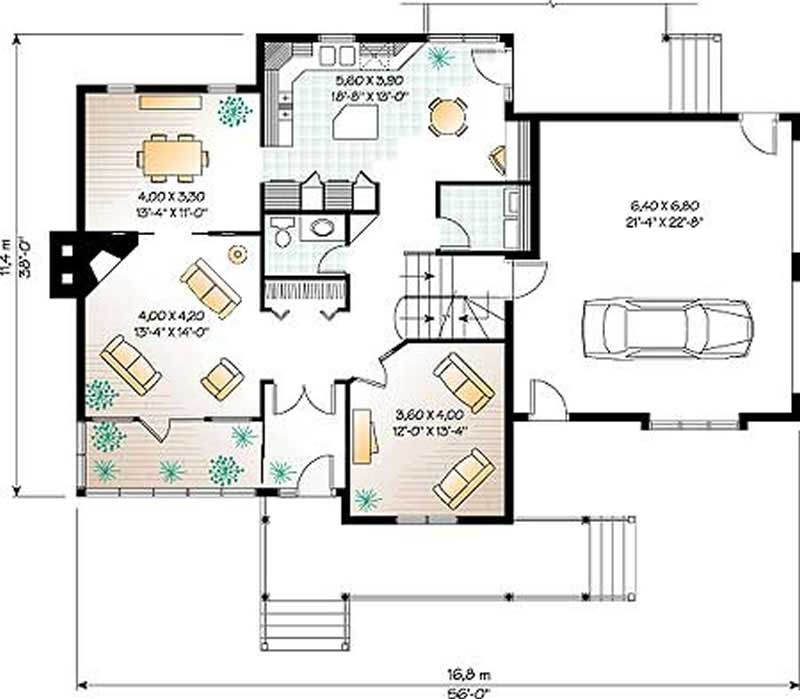 Traditional Country House Plans Home Design Dd 2853 4200