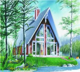 House Plan #126-1215