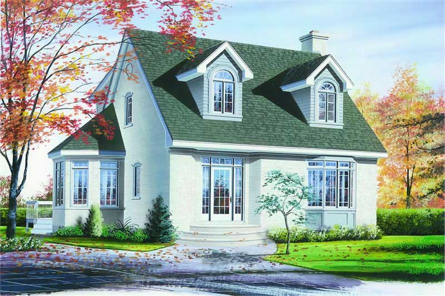 Main image for house plan # 4205