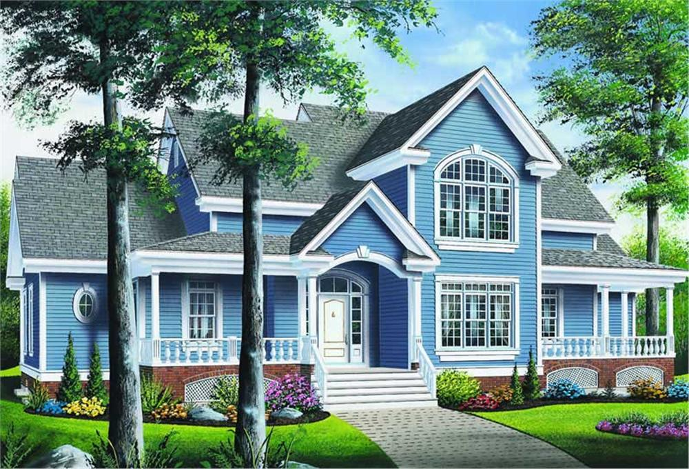 Main image for house plan # 4119